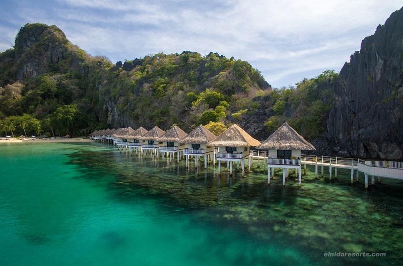 全室絶景シービュー&水上コテージのエコアイランドリゾート