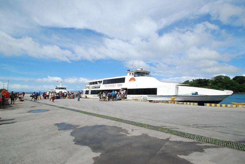シキホール島の港