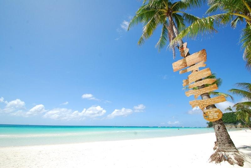 ボラカイ島 ホワイトビーチ ステーション1