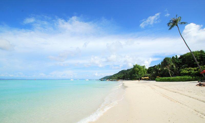 ピピ島 ビーチ