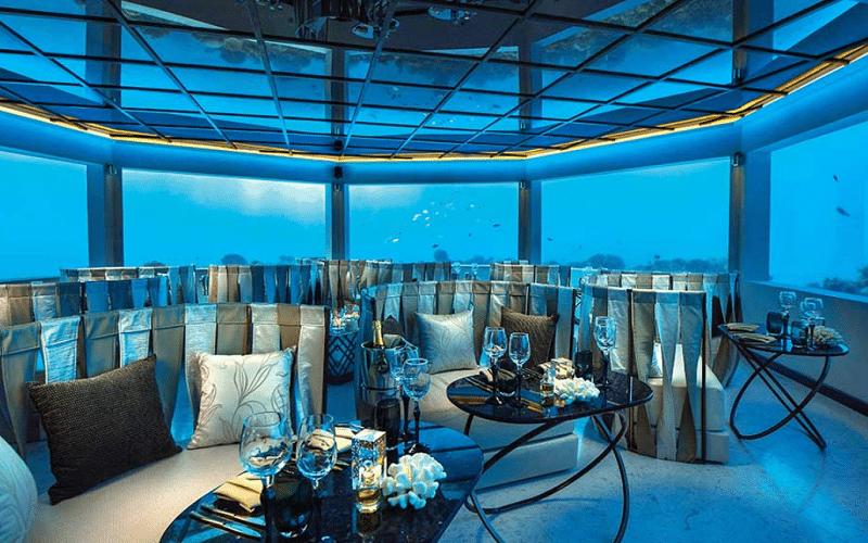 モルディブ オーゼン レストラン