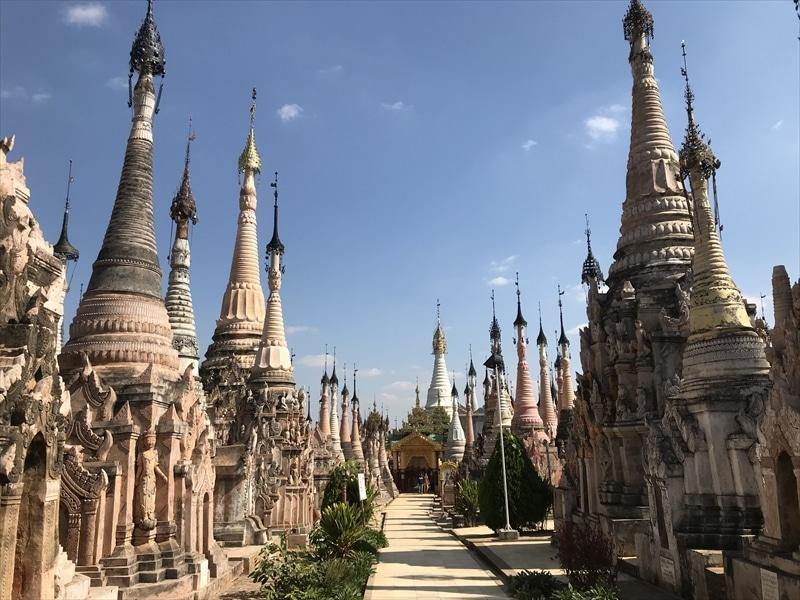 ミャンマーの秘境カックー遺跡に行くべき!道中にある市場や村も必見!