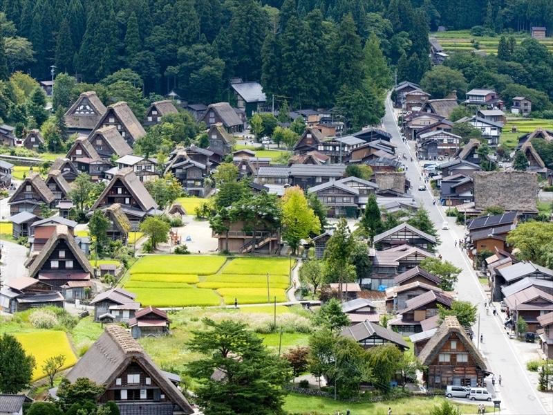 岐阜県の観光名所は白川郷だけじゃない!温泉や宿場町など見所満載
