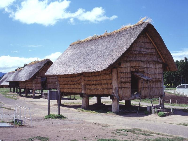 縄文時代の集落跡「三内丸山遺跡」
