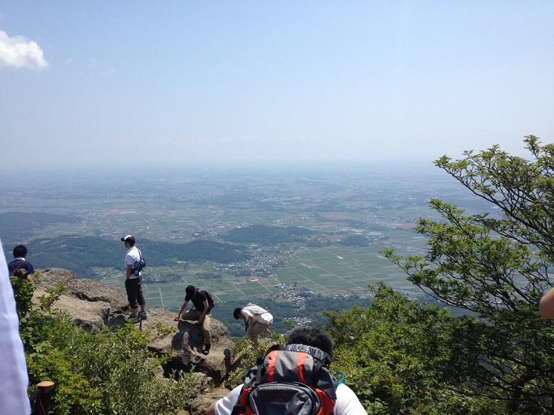 筑波山 登山
