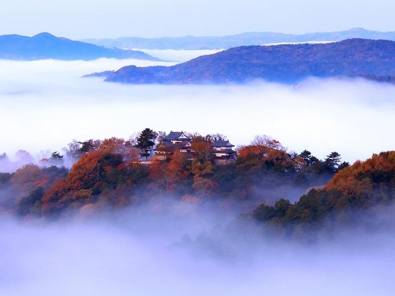 岡山県:備中松山城