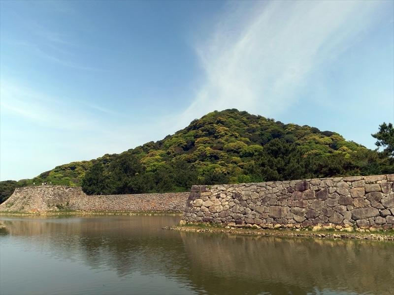 山口県:萩城跡