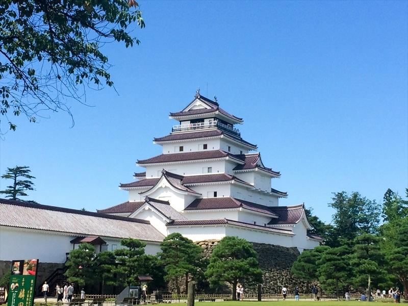 福島県:会津若松城