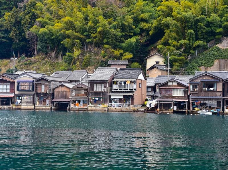 伊根の舟屋集落