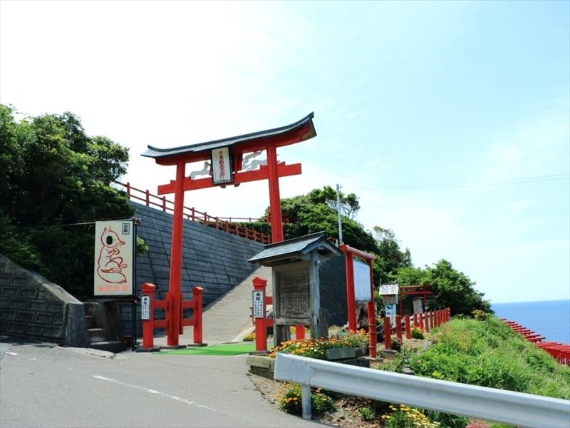 山口 県 観光 赤い 鳥居