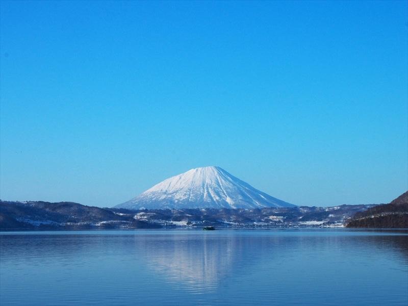 羊蹄山「蝦夷富士」