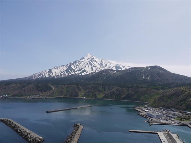 利尻山「利尻富士」