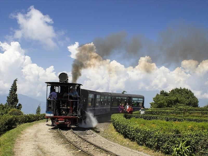 タージリンのヒマラヤ鉄道
