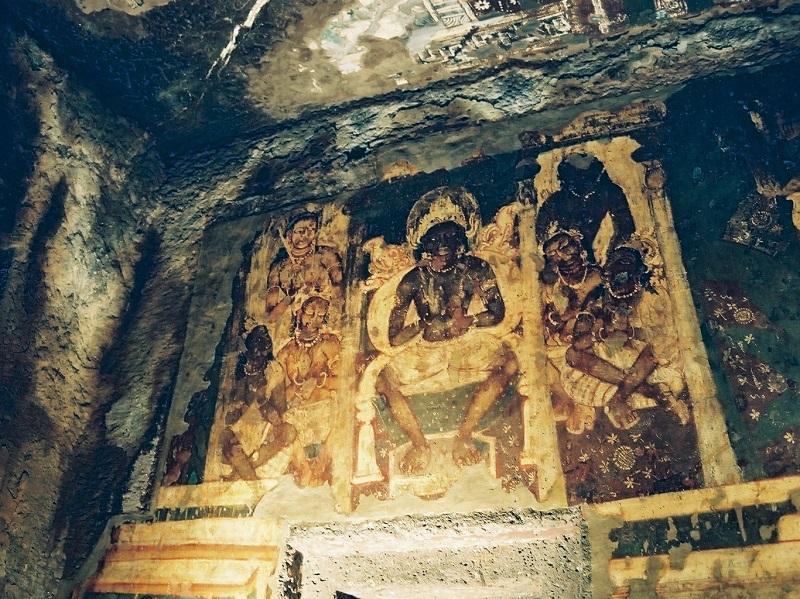 アジャンターの壁画