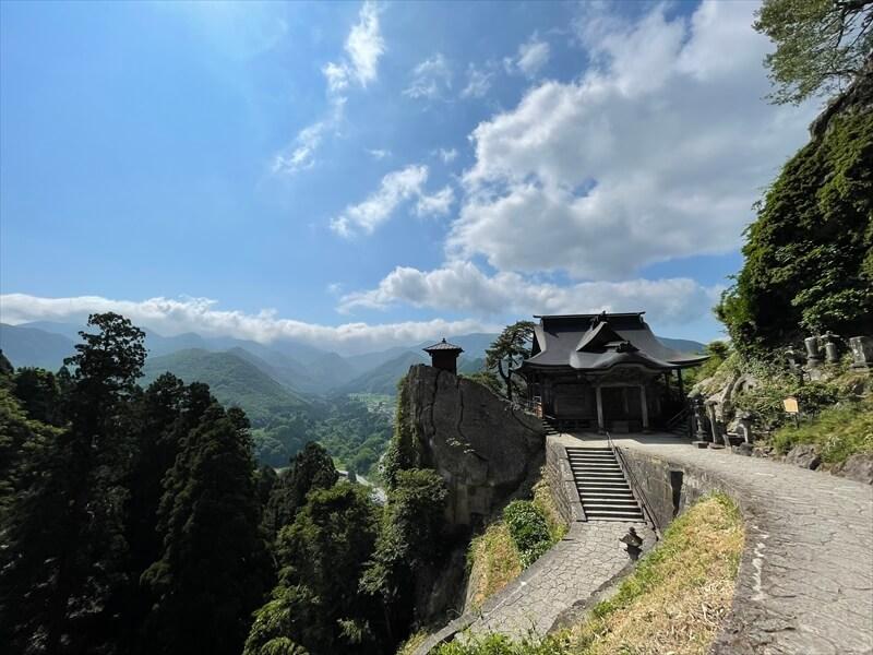 立石寺 階段
